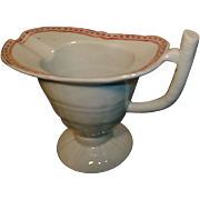 Early 19th century Chinese export porcelain helmet shaped Cream Jug
