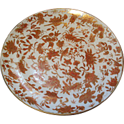 Sacred Bird & Butterfly Chinese Export Porcelain Plate - Early 19th century