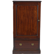18th century English George III Mahogany Library Pedestal 1790