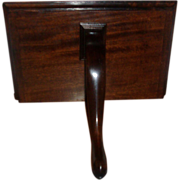 Antique Early 19th century George III mahogany Wall Bracket Shelf