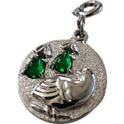 1974 Christmas Limited Edition Partridge in a Pear Tree Sarah Coventry Silver-tone and ...
