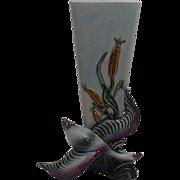 SALE Hull  Flying Goose  Bud Vase 1950's