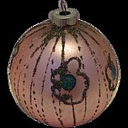 SALE Pink Shiny Brite Germany Christmas Tree Ornament