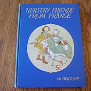 Nursery Friends From France  Children Book