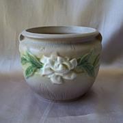 Gardenia Pottery Vase by Roseville
