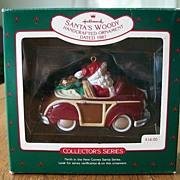 Hallmark Keepsake  Santa's Woody  Ornament