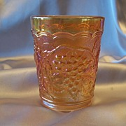 Carnival  Marigold Tumbler by Imperial Glass
