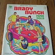 The Brady Bunch Uncut Paper Dolls