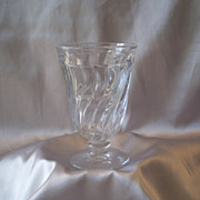 Fostoria Glass Crystal Colony  Water Goblet
