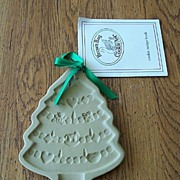 Brown Bag Cookie Art Christmas Tree Mold