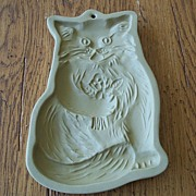 Brown Bag Cookie Art Cat With Flowers