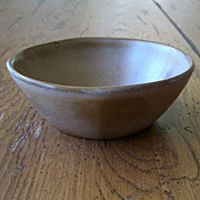 Frankoma Pottery Dark Brown Bowl