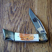 Parker IMAl Cutlery Company Wildlife Series Bison K-267 Knife