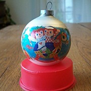 Raggedy Ann And Andy The Drum Collection By Corning Christmas Ornament
