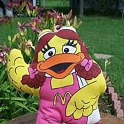 SALE McDonald Birdie Stuffed Pillow Doll 1987