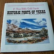 SALE Historic Forts Of Texas By J. U. Salvant And Robert M. Utley