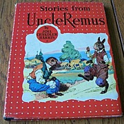 Stories From Uncle Remus By Joel Chandler Harris