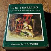 The Yearling By Marjorie by Kinnan Rawlings