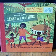 Little Black Sambo And The Twins Two Record Set