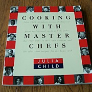 SALE Cooking With Master Chefs by Julia Child