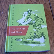 The New Days And Deeds School Reader