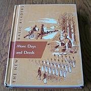 More Days And Deeds School Reader