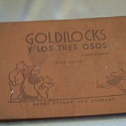 In Spanish Goldilocks And The Three Bears Book