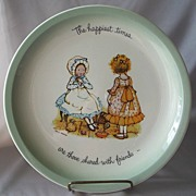 Holly Hobbie Ceramic Collector Plate
