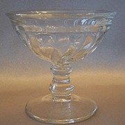 Fostoria Glass Crystal Footed Sherbet