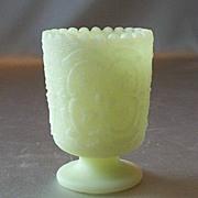 Fenton Art Glass Custard Toothpick Holder