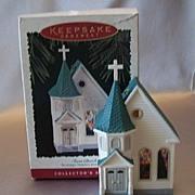 Hallmark Ornament Nostalgic Houses and Shop - Town Church