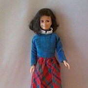 Brunette Skooter Doll by Mattel