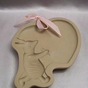 Brown Bag Cookie Art Disney Classic Piglet Mold