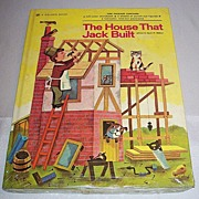 The House That Jack Built  Golden Book  1973