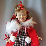 Cindy Lou Who Character Doll