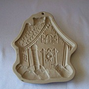 Brown Bag Cookie Art Mold North Pole Cottage