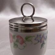 Royal Worcester English Garden Porcelain Coddler