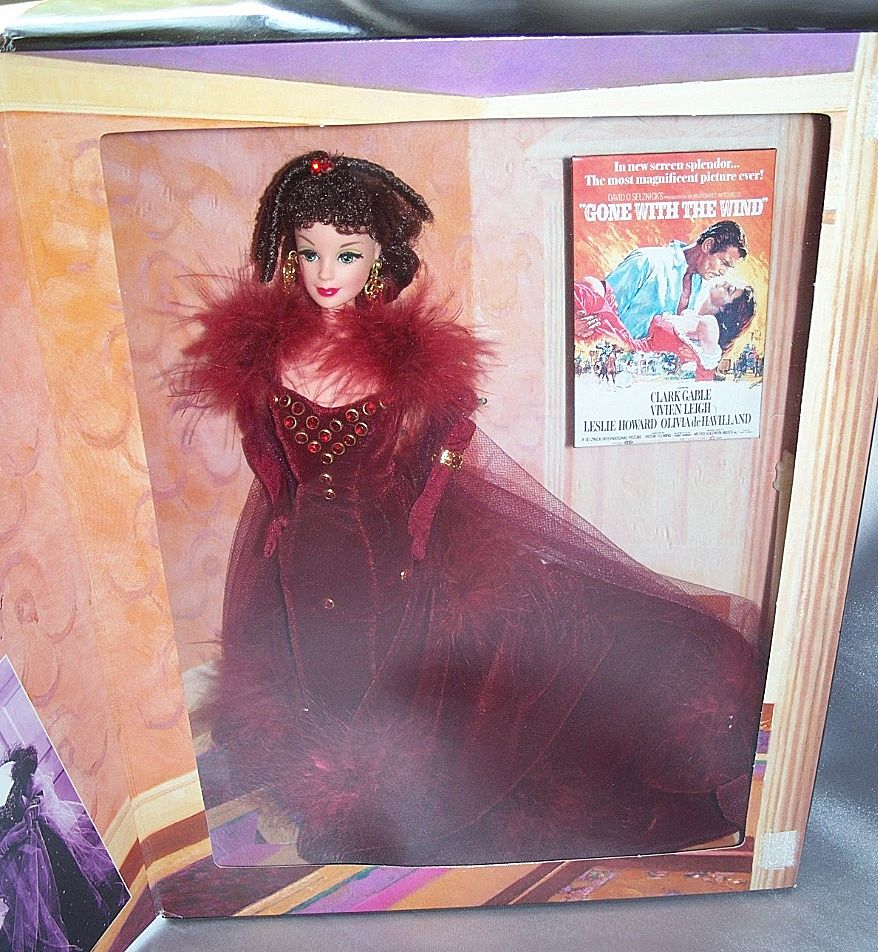 Gone With The Wind Barbie Doll As Scarlett From