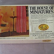 The House Of Miniatures Queen Anne Candle Stand Dollhouse Furniture