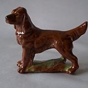 Irish Setter Dog Figurine by Wade