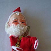 Santa Claus Knee Hugger Ornament