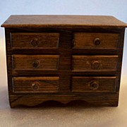Miniature Chest Of Drawers Doll House