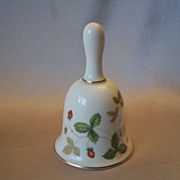 Wild Strawberry Bell by Wedgwood