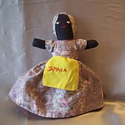 Hand Crafted Topsy Turvy Cloth Doll