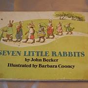 Seven Little Rabbits by John Becker