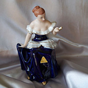 Royal Dux Porcelain Lady Figurine