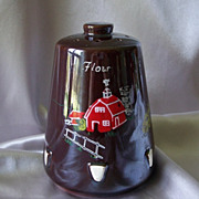 Vintage Hand Painted Flour Shaker Japan