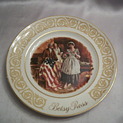 Avon Collector Plate Betsy Ross 1973