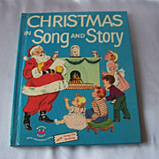 Christmas In Song And Story A Wonder Book