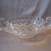 Crystal Fostoria Glass American Trophy Bowl